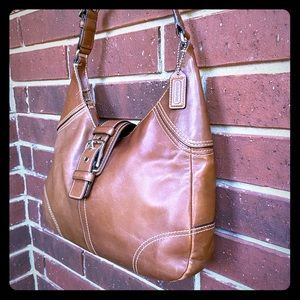 Coach - Leather Hobo